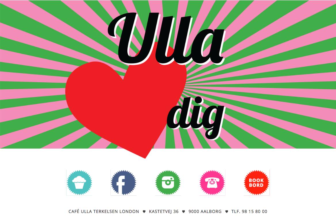Screenshot af cafeullaterkelsenlondon.dk .