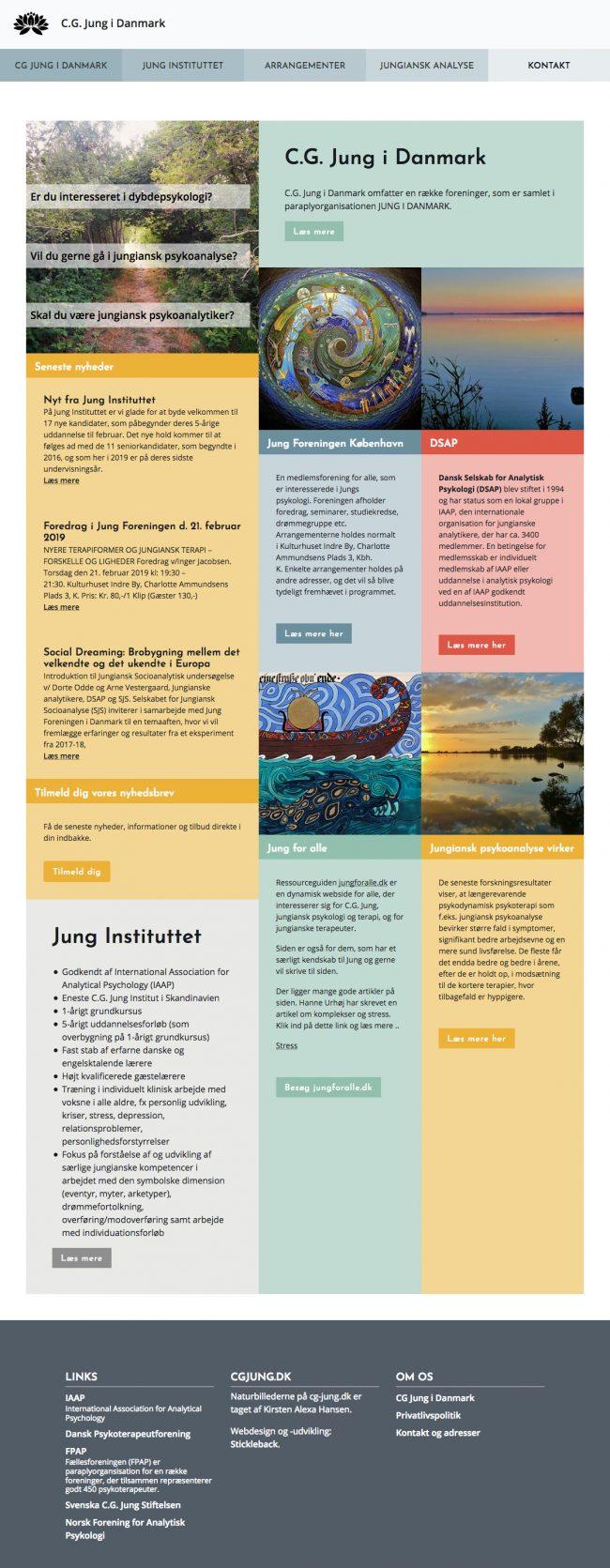 cg-jung.dk - screenshot