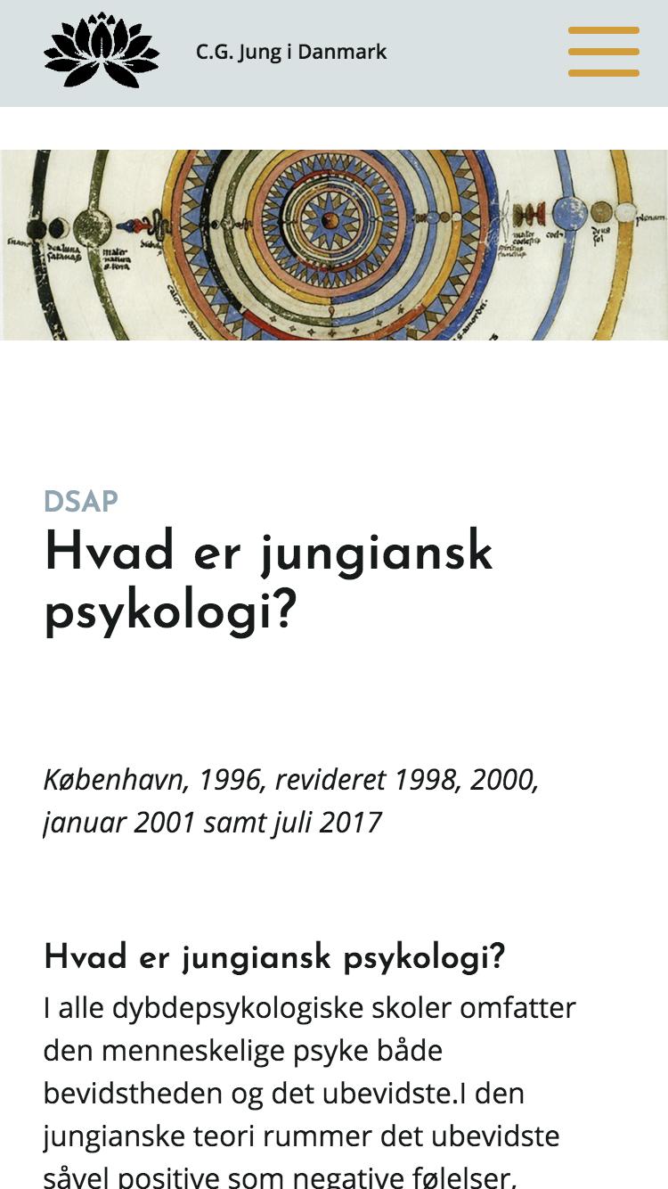 cg-jung.dk - smartphone version