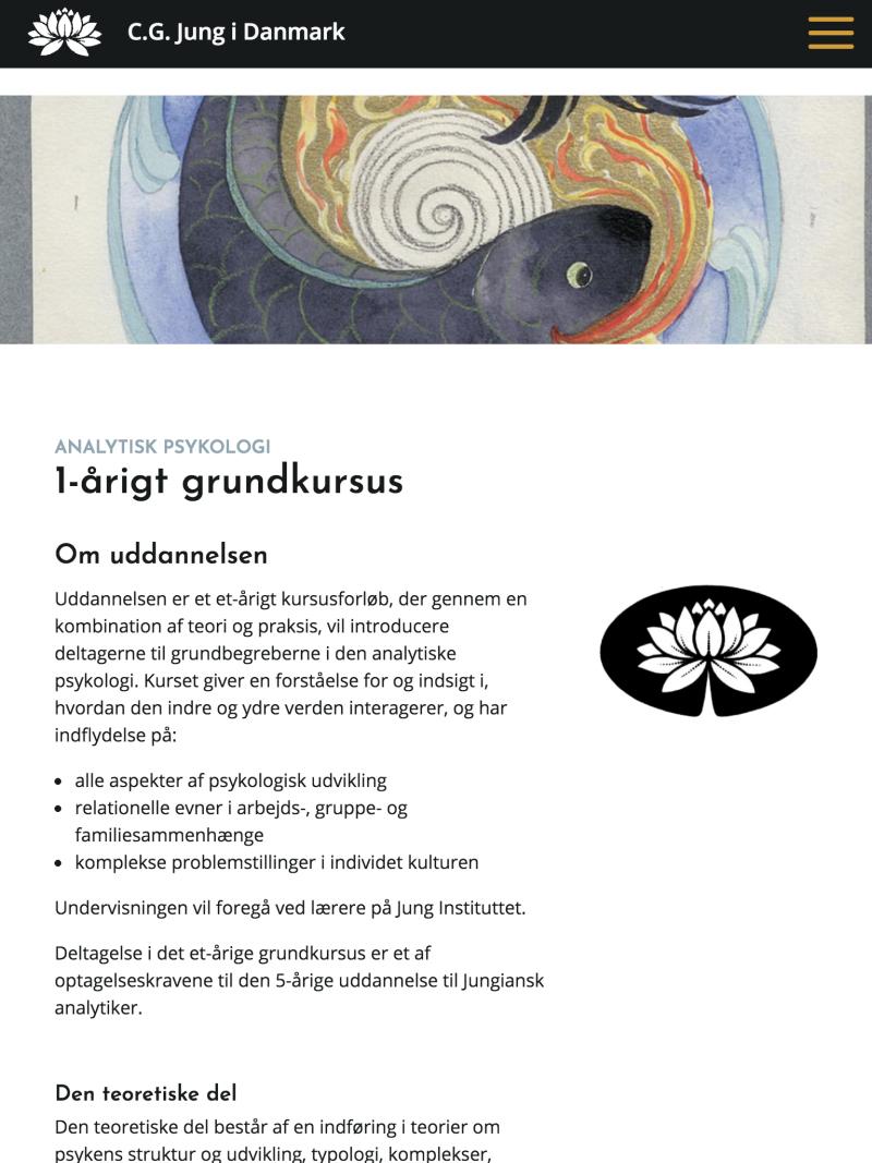 cg-jung.dk - tablet version