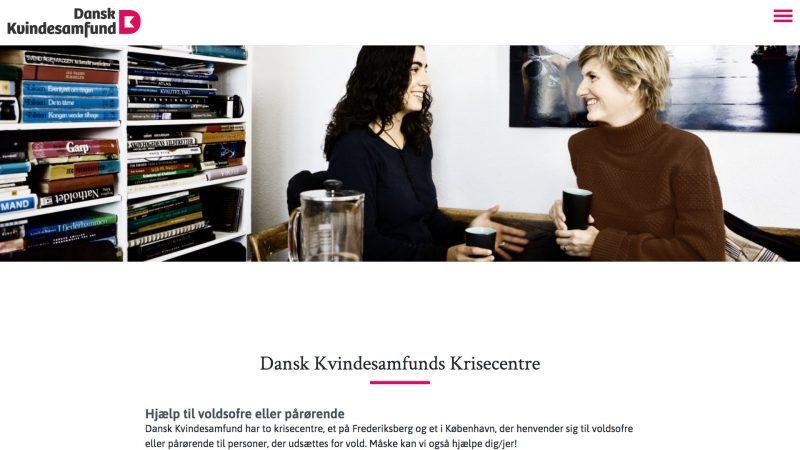 danskkvindesamfund.dk - desktop version.