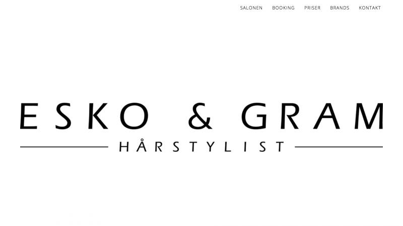 esko-gram.dk - desktop version.