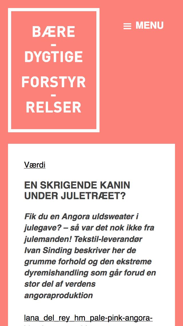 forstyrrelser.dk - smartphone version.