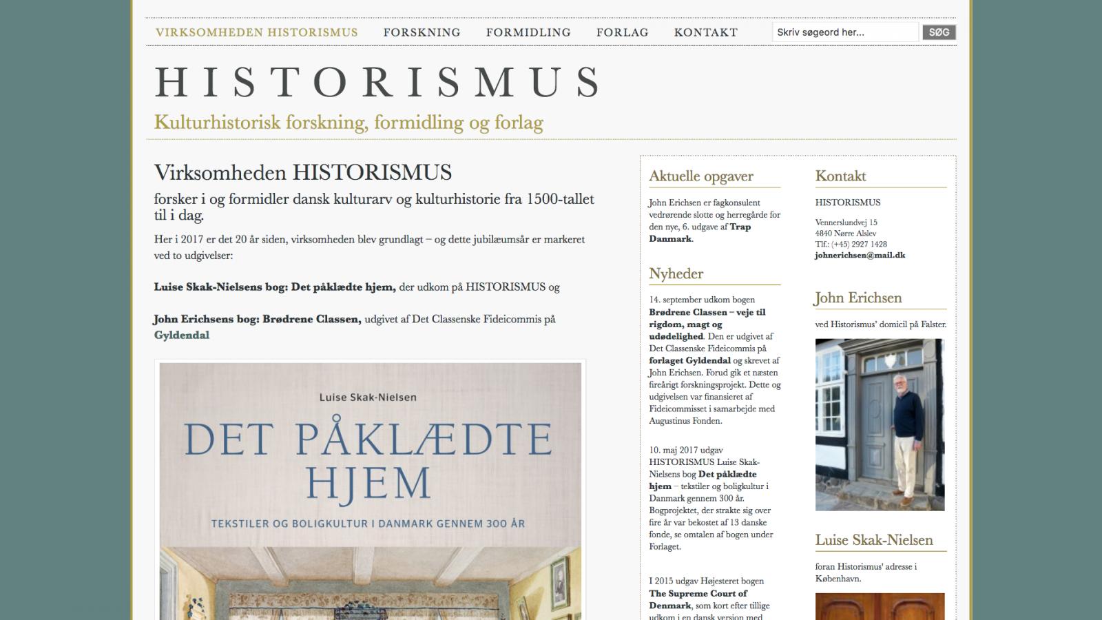 historismus.dk
