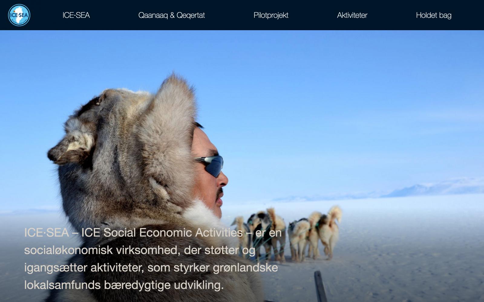icesea.dk - desktop version.