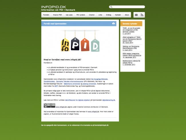 infopid.dk - screenshot.