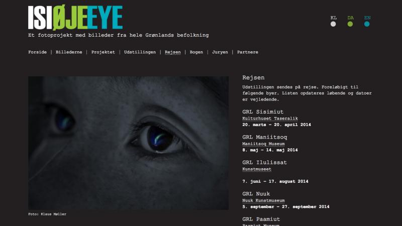 Isi - Øje - Eye - desktop version.