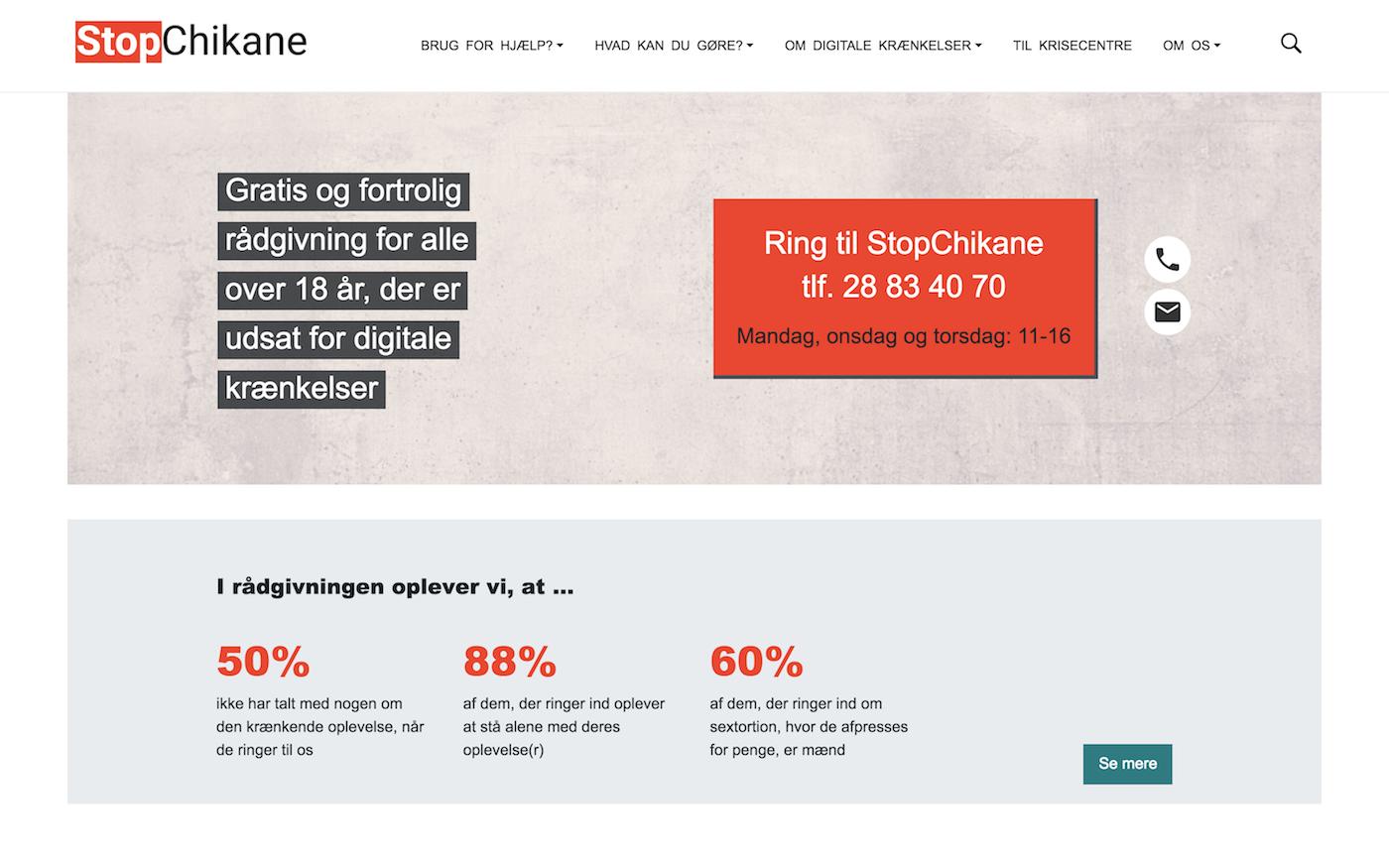 stopchikane.nu - screenshot desktop