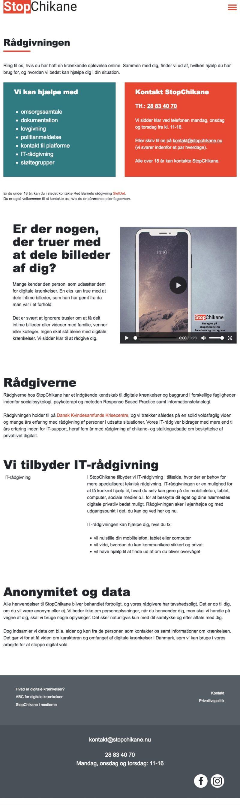 stopchikane.nu - screenshot tablet