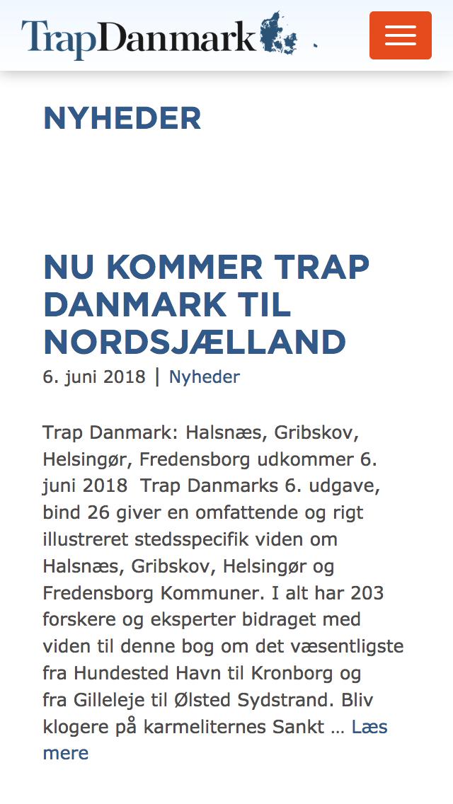 trap.dk - smartphone version.