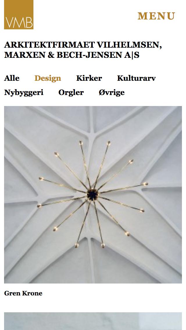 vmb-arkitekter.dk - smartphone version.