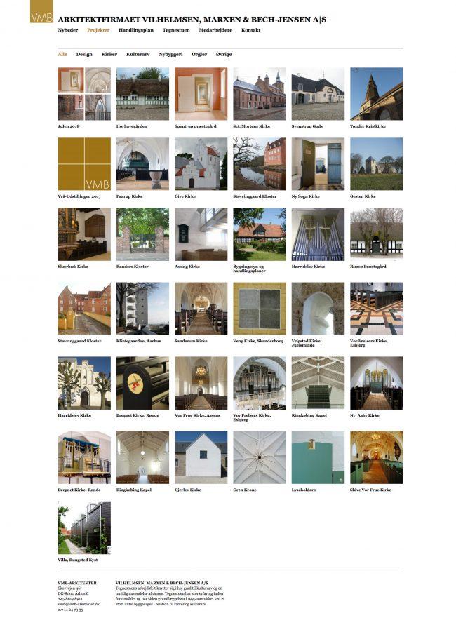 vmb-arkitekter.dk - screenshot.